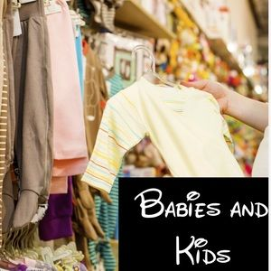 Babies and kids clothing, jackets,hats, and shoes
